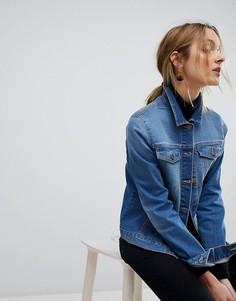 Джинсовая куртка Pieces - Синий