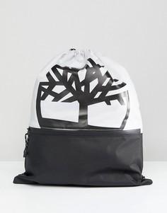 Серый рюкзак на шнурке с логотипом Timberland - Серый