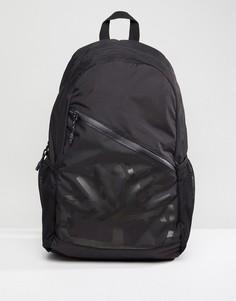 Черный рюкзак из ткани рипстоп с большим логотипом Timberland - Черный