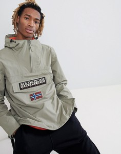 Куртка цвета хаки Napapijri - Зеленый