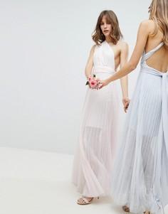 Платье-трансформер макси Coast Corwin - Розовый