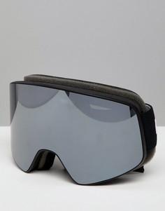 Защитные лыжные очки Head Horizon - Серебряный