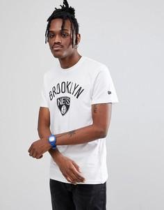 Белая футболка с логотипом Brooklyn Nets New Era NBA - Белый
