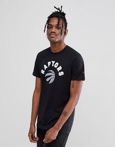 Черная футболка New Era NBA Raptors - Черный