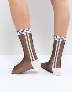 Полупрозрачные носки с логотипом Iceberg - Мульти