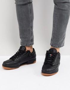Черные кроссовки средней высоты Fila T-1 - Черный