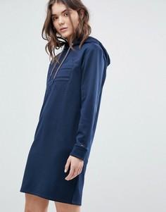 Платье-худи Tommy Jeans - Темно-синий