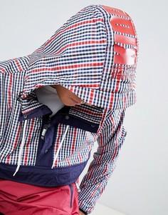 Красная куртка в клетку Kidda By Christopher Shannon - Красный