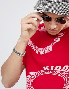 Красная футболка с логотипом Kidda By Christopher Shannon - Красный