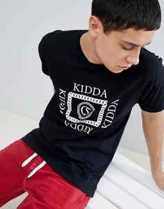 Черная футболка Kidda By Christopher Shannon - Черный