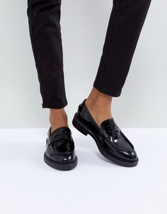 Черные кожаные лоферы Vagabond Alex - Черный