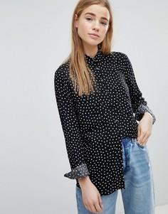 Блузка в горошек Pimkie - Черный