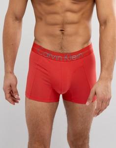 Хлопковые обтягивающие боксеры-брифы Calvin Klein - Оранжевый