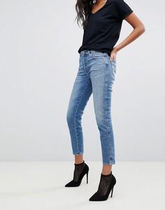 Узкие джинсы с классической талией Diesel - Синий