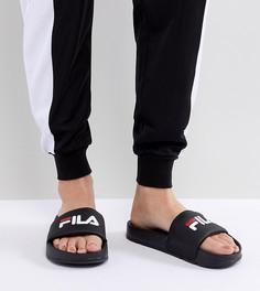Черные шлепанцы Fila Difter - Черный