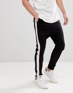 Спортивные штаны с полосками Jack & Jones Core - Темно-синий
