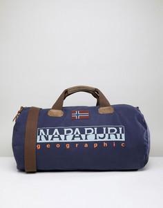 Темно-синяя сумка Napapijri Bering - Темно-синий