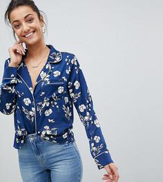 Пижамная рубашка с цветочным принтом Missguided Tall - Мульти