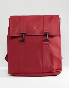 Красный рюкзак Rains 1213 - Красный