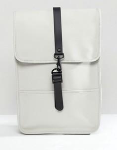 Светло-бежевый мини-рюкзак Rains 1280 - Светло-бежевый