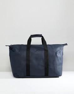 Темно-синяя дорожная сумка Rains 1286 - Темно-синий