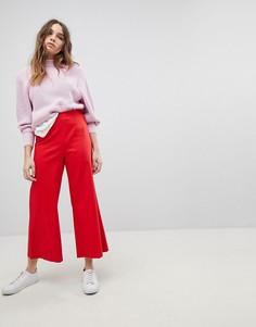 Широкие укороченные брюки Max&Co. - Красный