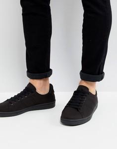 Черные кроссовки Fred Perry B721 - Черный