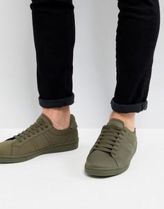 Кроссовки цвета хаки Fred Perry B721 - Зеленый