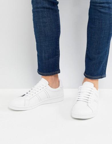 Белые кожаные кроссовки Fred Perry B721 - Белый