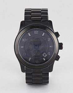 Черные часы-хронограф Michael Kors MK8157 - Черный