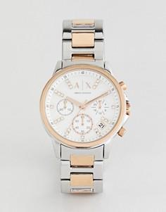 Часы с хронографом Armani Exchange AX4331 - Серебряный