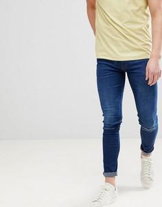 Рваные супероблегающие джинсы Ringspun - Синий