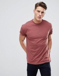 Красная футболка New Look - Коричневый