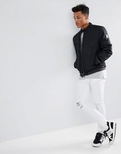 Куртка Calvin Klein Racer Moto - Черный