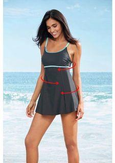 Моделирующий купальник-платье
