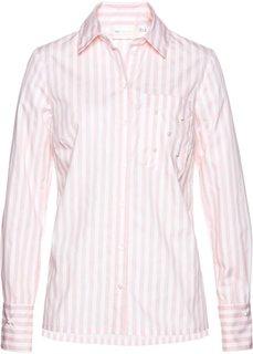 Блузка с бусинами (нежно-розовый/белый в полоску) Bonprix