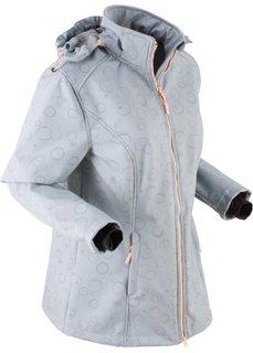 Куртка-софтшелл (серебристо-серый) Bonprix