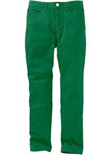 Брюки-дудочки, очень широкий (зеленый) Bonprix