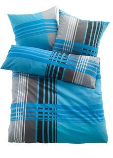 Постельное белье Милано, сирсакер (синий) Bonprix