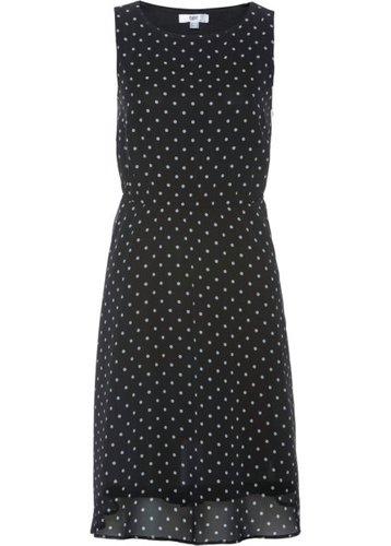 Платье в горошек (черный/белый в горошек)