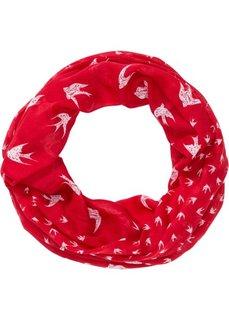 Шарф-снуд в морском стиле (красный) Bonprix