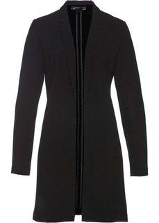 Пиджак удлиненного покроя (черный) Bonprix