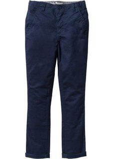 Брюки-чиносы Skinny fit, увеличенный (темно-синий) Bonprix