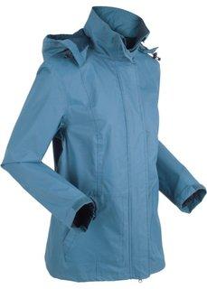 Куртка для активного отдыха с карманом на животе (синий джинсовый) Bonprix