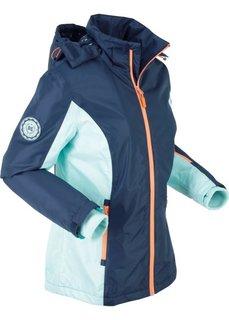 Куртка для активного отдыха, подкладка с рисунком (темно-синий) Bonprix