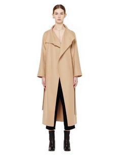 Пальто из шерсти и кашемира The Row