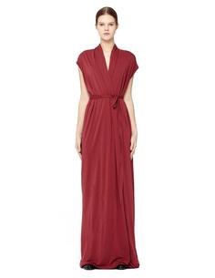 Платье из вискозы Rick Owens Lilies