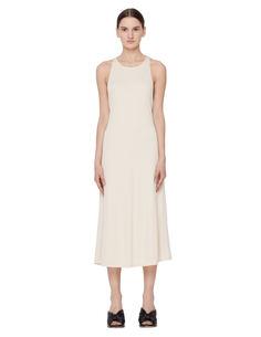 Платье из вискозы и шелка The Row