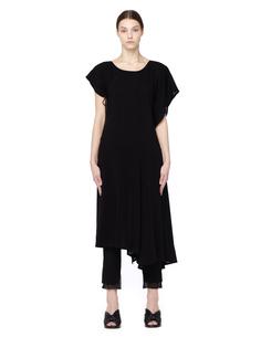 Платье из тенсела Yohji Yamamoto
