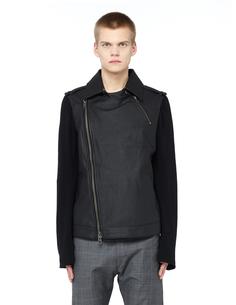Куртка из кожи и хлопка L.G.B.